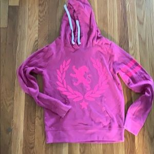 Worn once! Express pink sweatshirt. Size Small